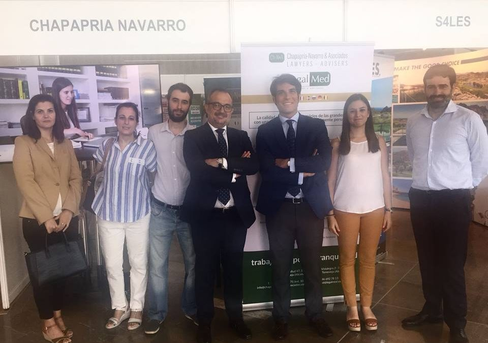 Our Company in the Real Estate convention in Torrevieja